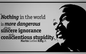 Sincere ignorance
