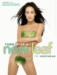 You turn over a new leaf, PETA. Maybe start with the 20th century?