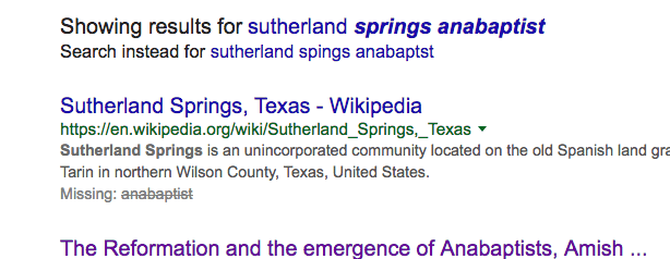 Google Anabaptist mass shooting