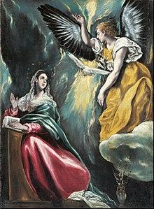 Annunciation El Greco